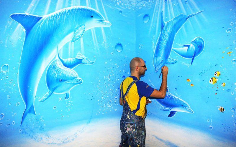 murales acquario