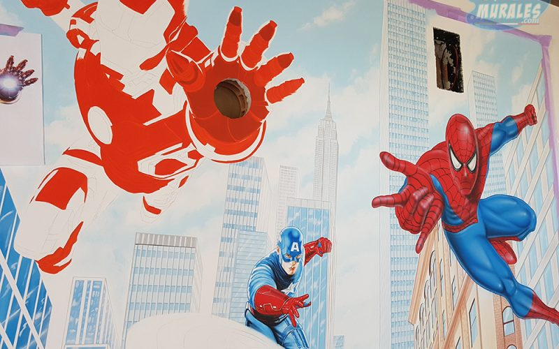 murales_supereroi_iron_man_spiderman_capitan_america3