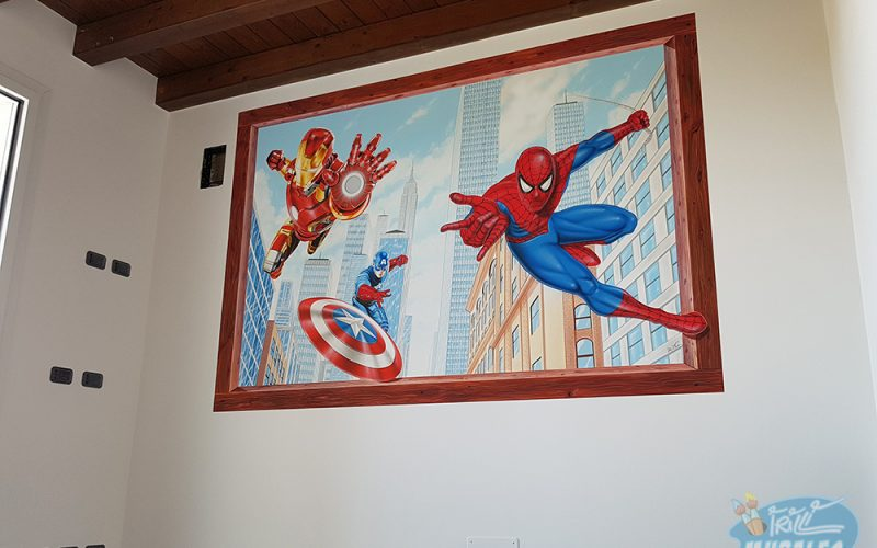 murales_supereroi_iron_man_spiderman_capitan_america5